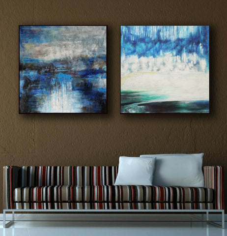 Image of Modern oil paintings  Modern abstract painting  Large abstract painting F124-8