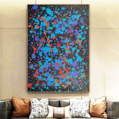 Modern oil paintings | Modern abstract painting | Large abstract painting F164-1
