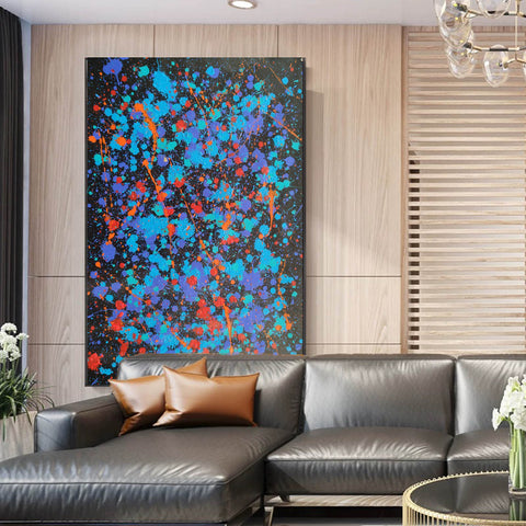 Image of Modern oil paintings | Modern abstract painting | Large abstract painting F164-2