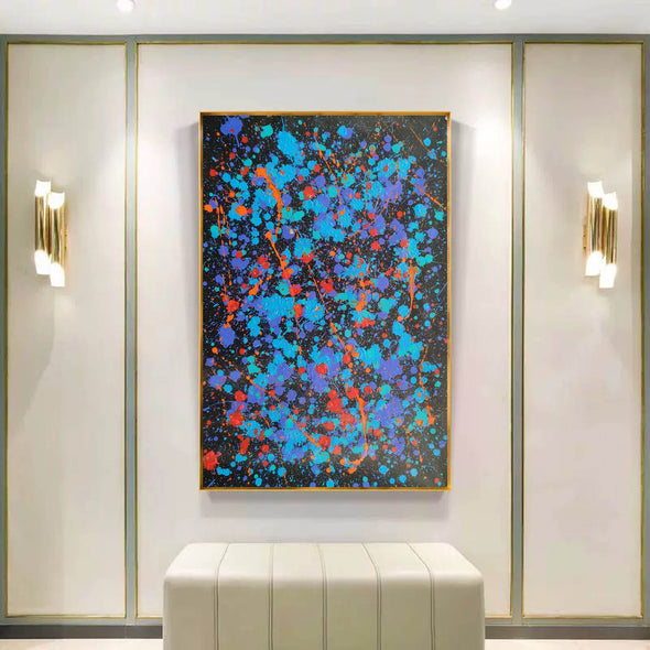 Modern oil paintings | Modern abstract painting | Large abstract painting F164-10