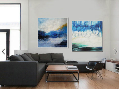 Image of Modern wall art  Modern paintings  Abstract wall art F118-10