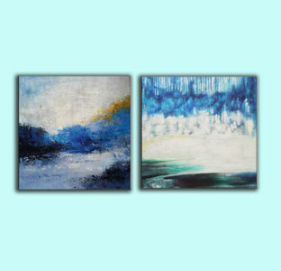 Modern wall art  Modern paintings  Abstract wall art F118-3