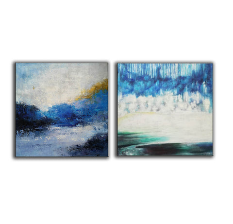 Image of Modern wall art  Modern paintings  Abstract wall art F118-4