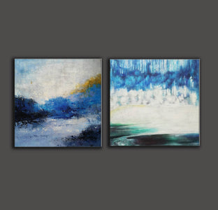 Modern wall art  Modern paintings  Abstract wall art F118-5