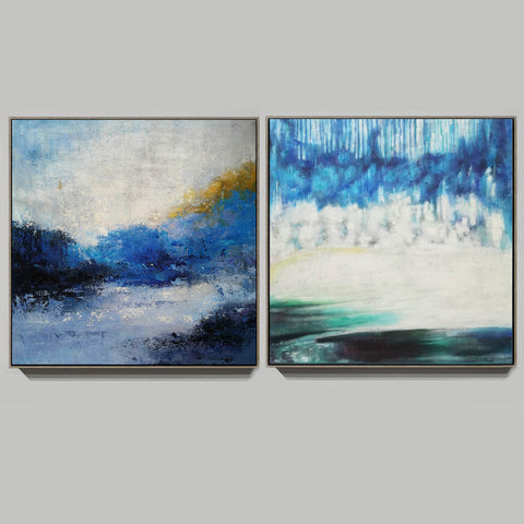 Image of Modern wall art  Modern paintings  Abstract wall art F118-6