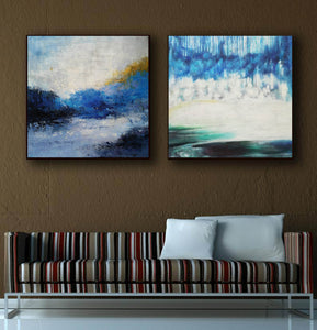 Modern wall art  Modern paintings  Abstract wall art F118-7