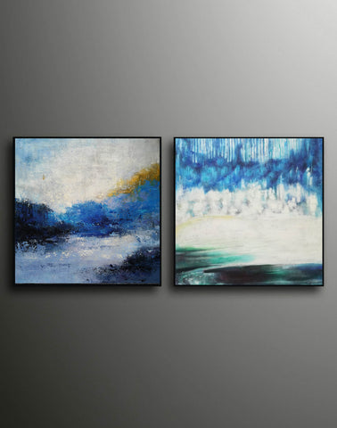 Image of Modern wall art  Modern paintings  Abstract wall art F118-8