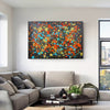 Abstract painting | Impressionist art F155-2