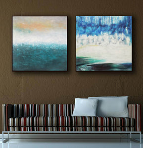 Oil painting on canvas abstract  Abstract oil on canvas paintings F142-1