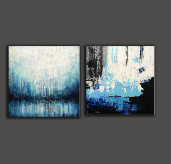 Paint abstract oil paintings  Contemporary art abstract paintings F132-4