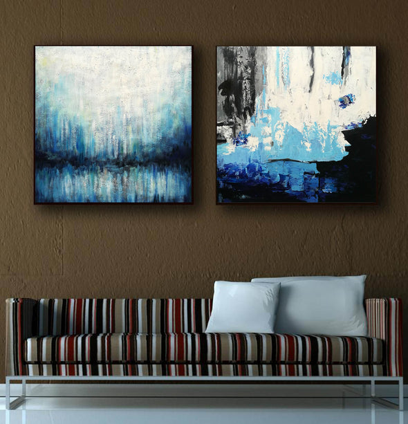 Paint abstract oil paintings  Contemporary art abstract paintings F132-2