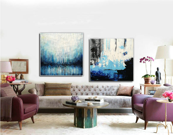 Paint abstract oil paintings  Contemporary art abstract paintings F132-9