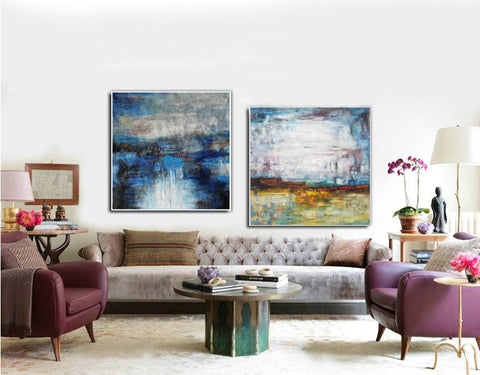 Paint modern abstract | Colorful abstract drawings F125-9