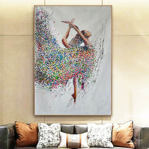 Painting on canvas abstract  Contemporary abstract artists painting  Abstract art with explanation F163-1