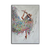 Painting on canvas abstract  Contemporary abstract artists painting  Abstract art with explanation F163-5