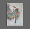 Painting on canvas abstract  Contemporary abstract artists painting  Abstract art with explanation F163-6