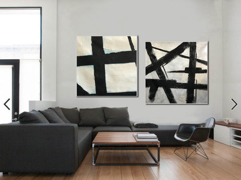 Image of Black and white artwork | Black and white wall art F107-10