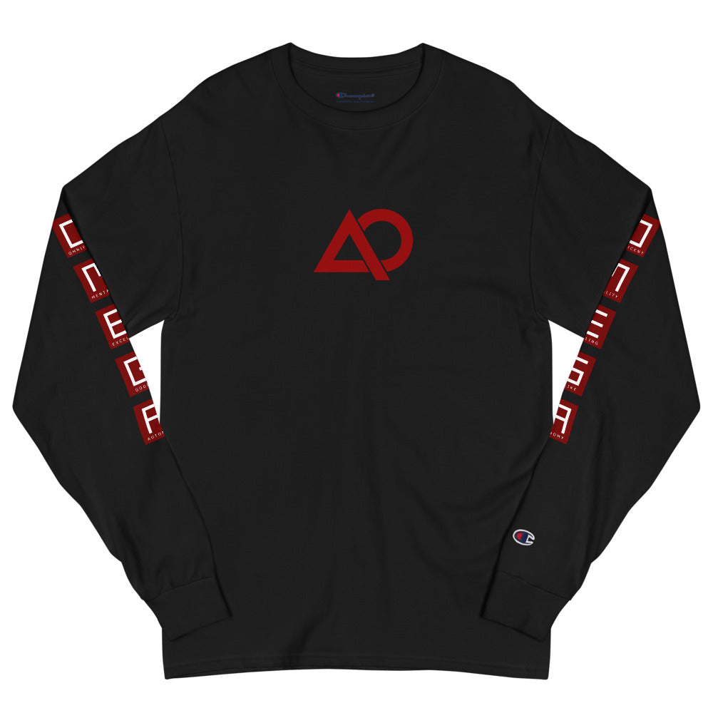 O.M.E.G.A Champion Long Sleeve Shirt - The Ripped Effect