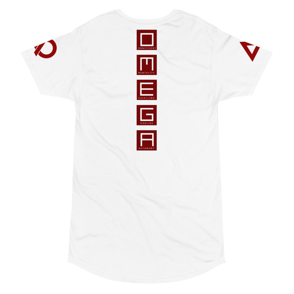 O.M.E.G.A *TRE CLASSIC* LONG TAIL URBAN TEE - The Ripped Effect