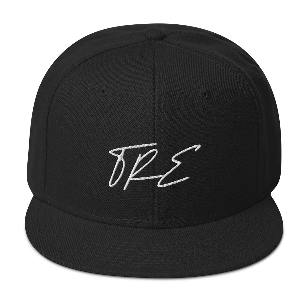 TRE Flagship Embroidered Snapback Hat - The Ripped Effect