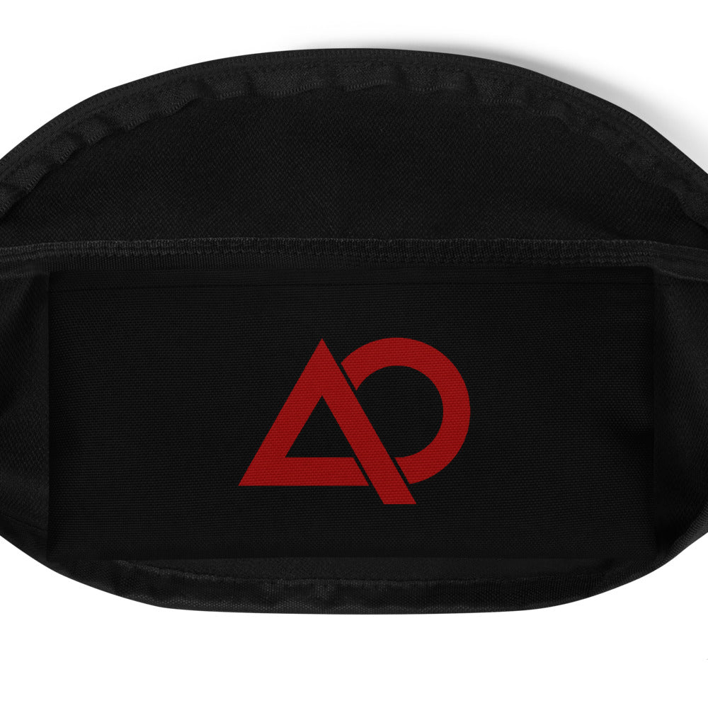 A.L.P.H.A (RED) Cross Body Waist Bag - The Ripped Effect