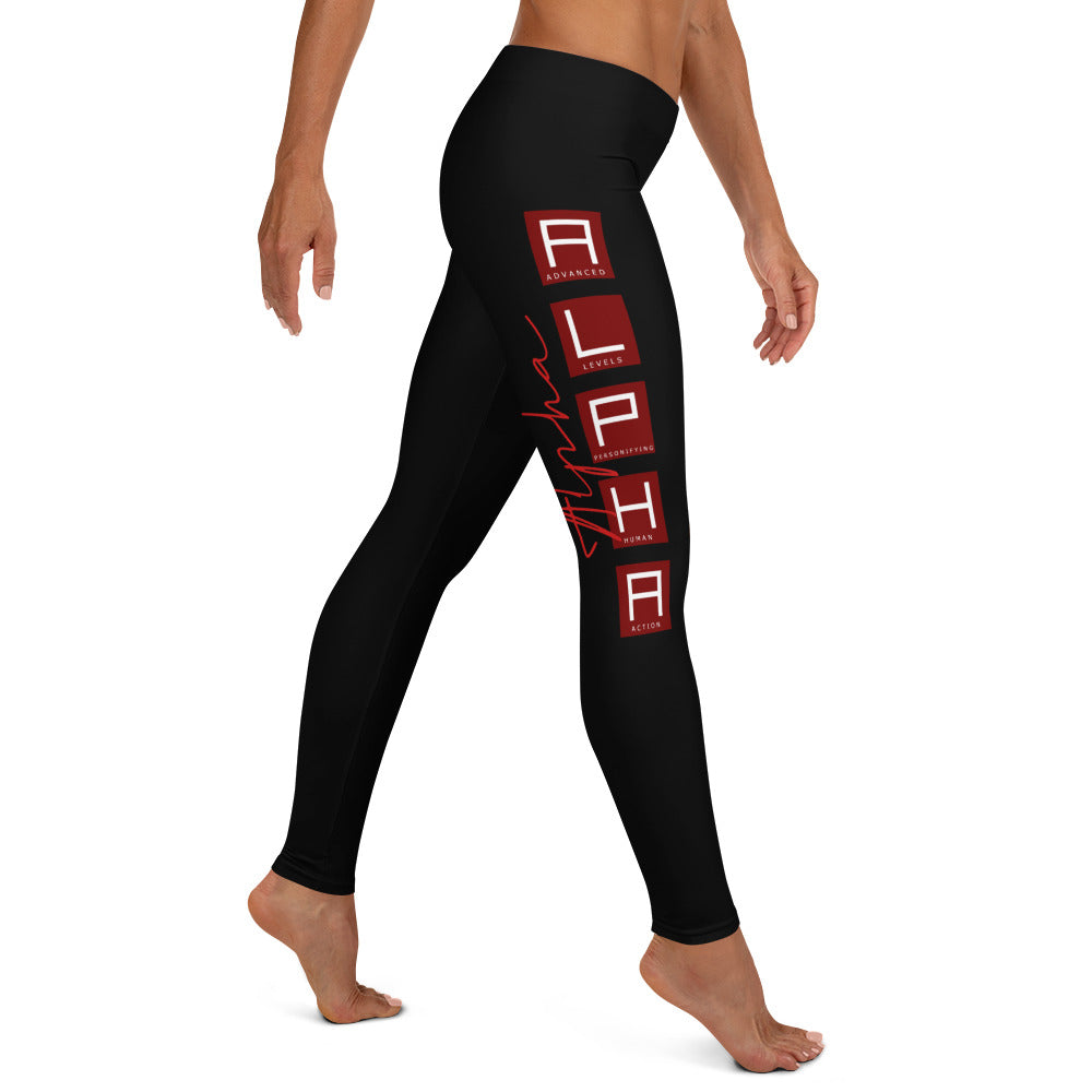 A.L.P.H.A Leggings - The Ripped Effect