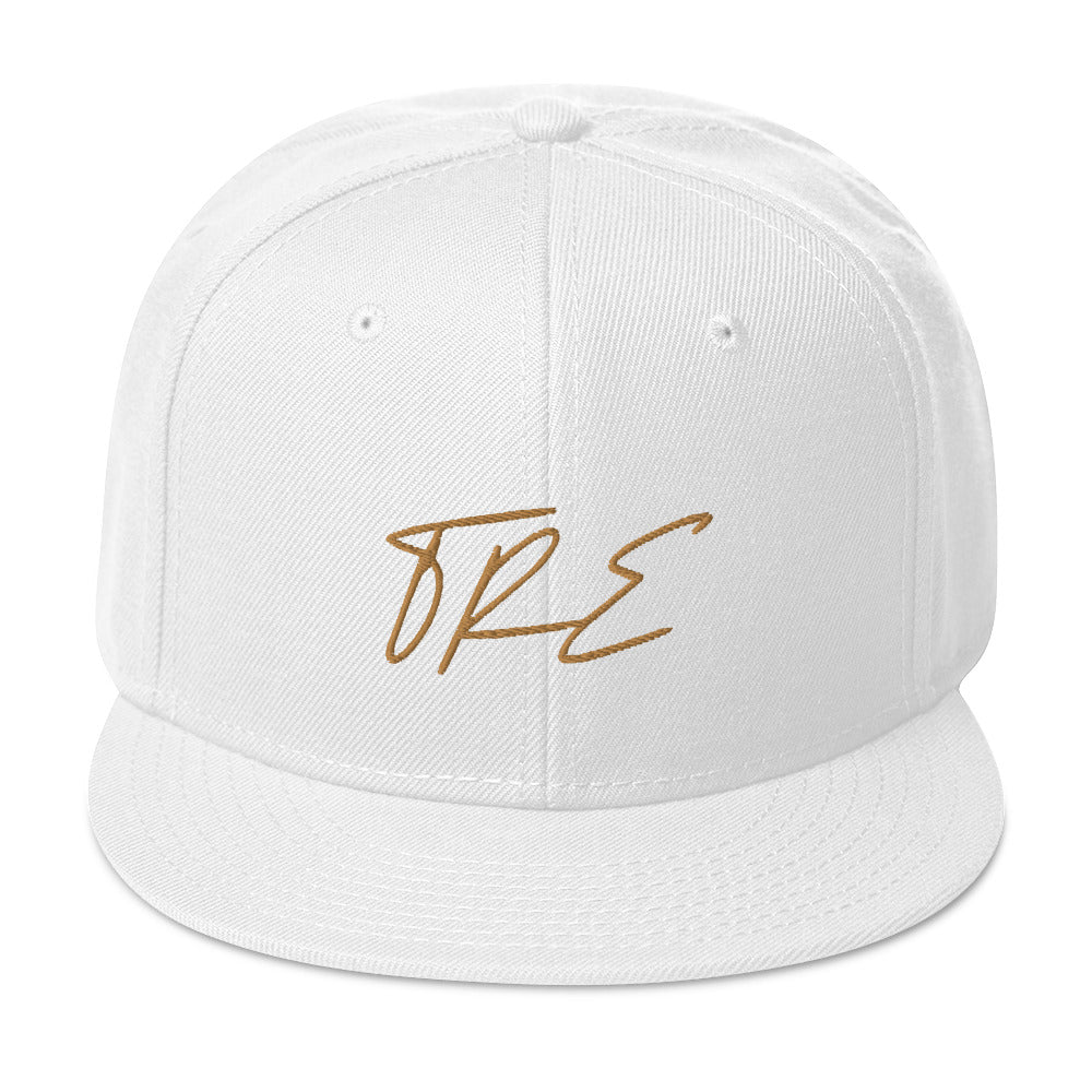 TRE Multi-Colors) Old Gold Flagship Snapback Hat - The Ripped Effect