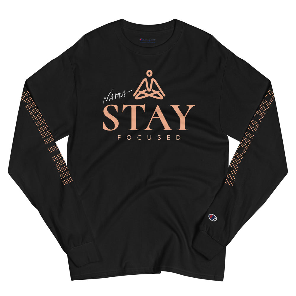 Stay Focused Champion Long Sleeve Shirt - The Ripped Effect