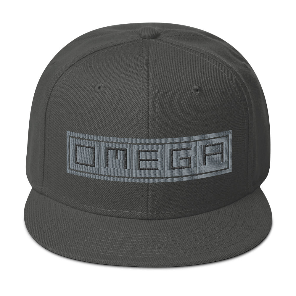 O.M.E.G.A Snapback Hat - The Ripped Effect