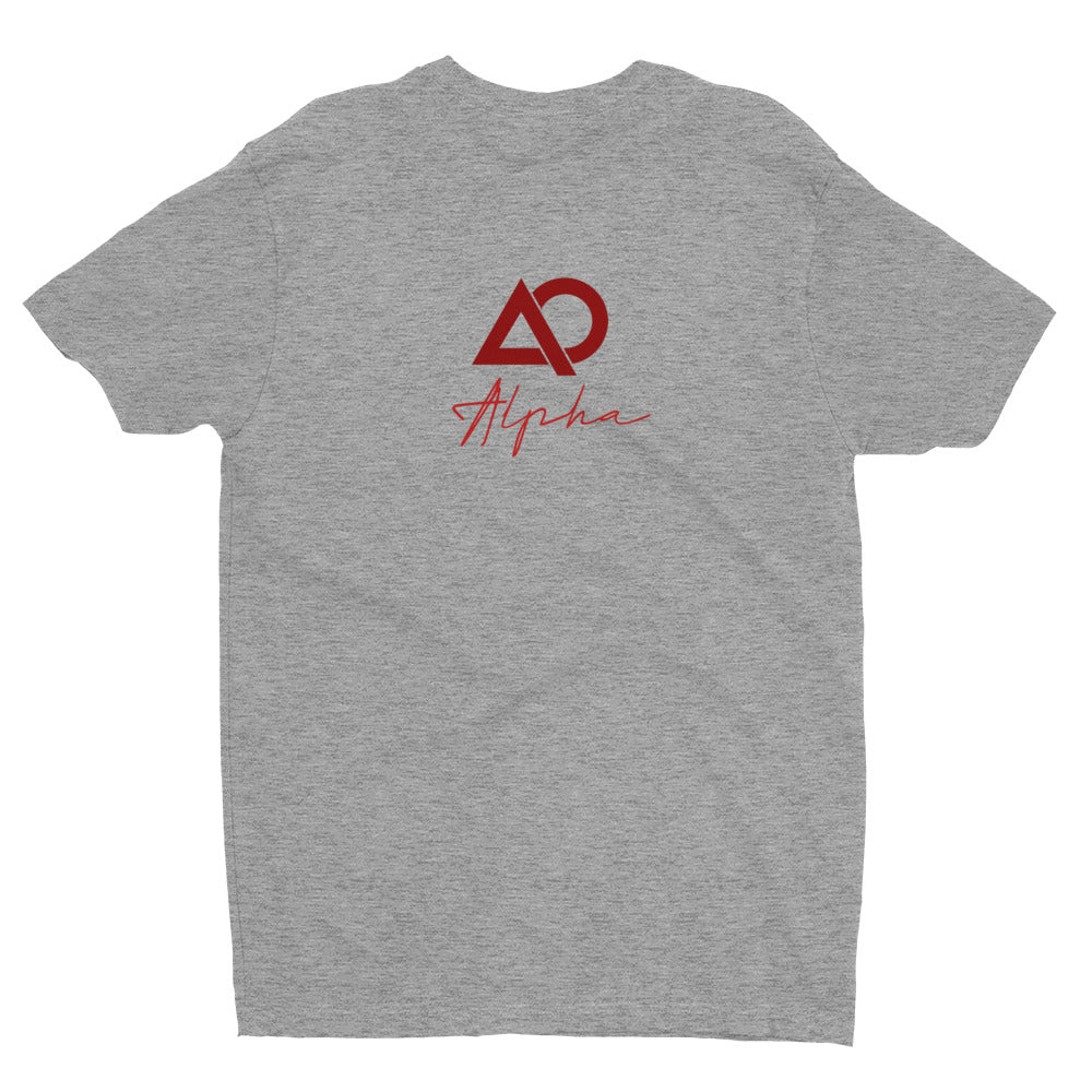 A.L.P.H.A - Fitted Short Sleeve T-shirt - The Ripped Effect