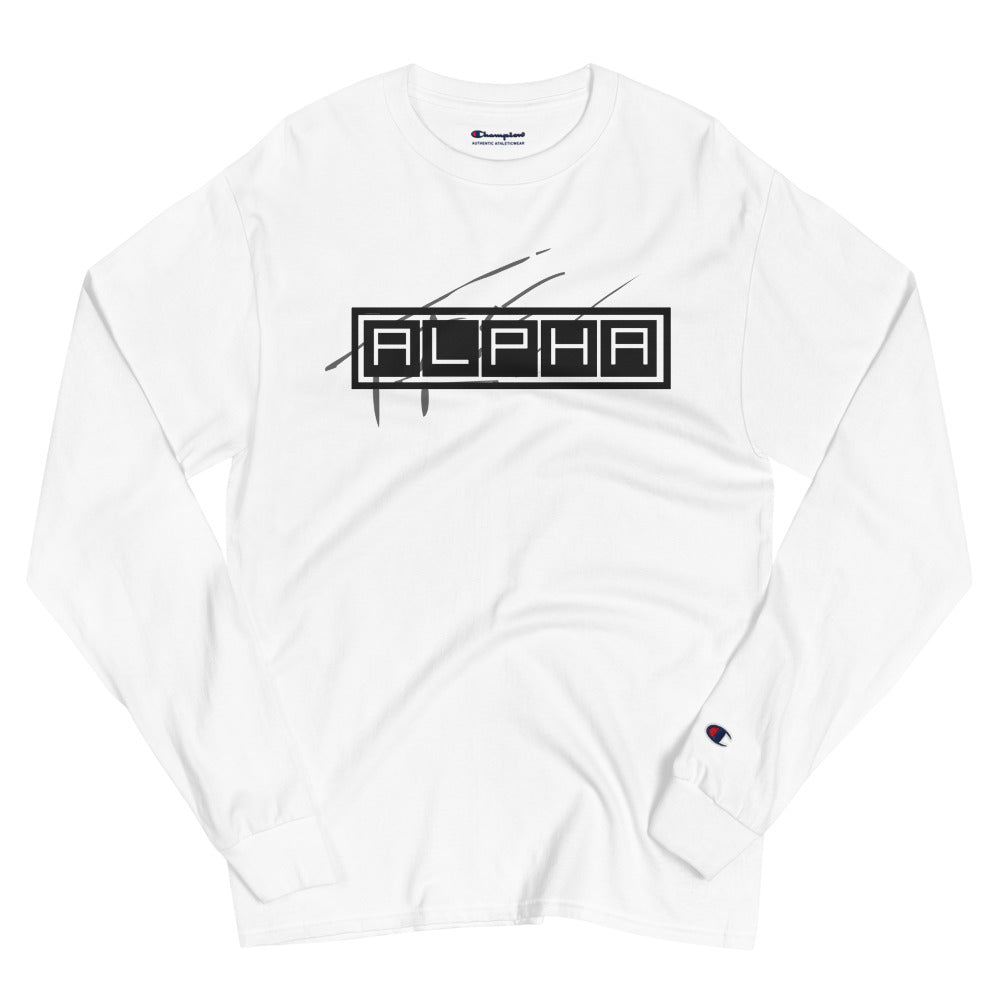 TRE ALPHA Champion Long Sleeve Shirt - The Ripped Effect