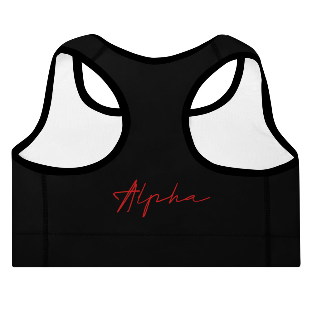 A.L.P.H.A Padded Sports Bra - The Ripped Effect