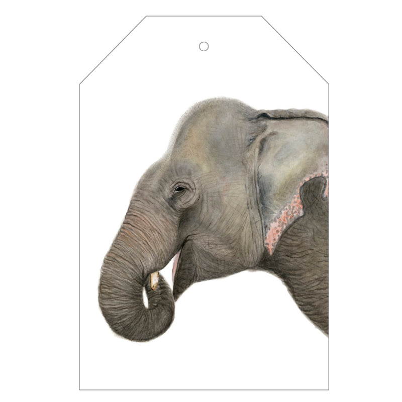 Elliot the Elephant Gift Tags - For Me By Dee