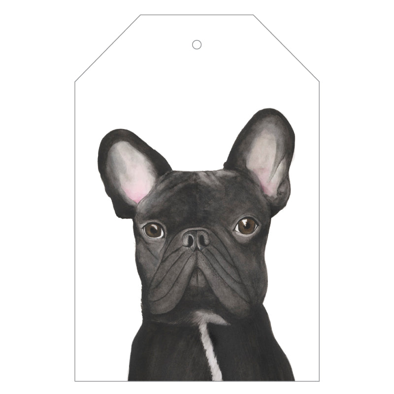 Gilbert the French Bulldog Gift Tags - For Me By Dee