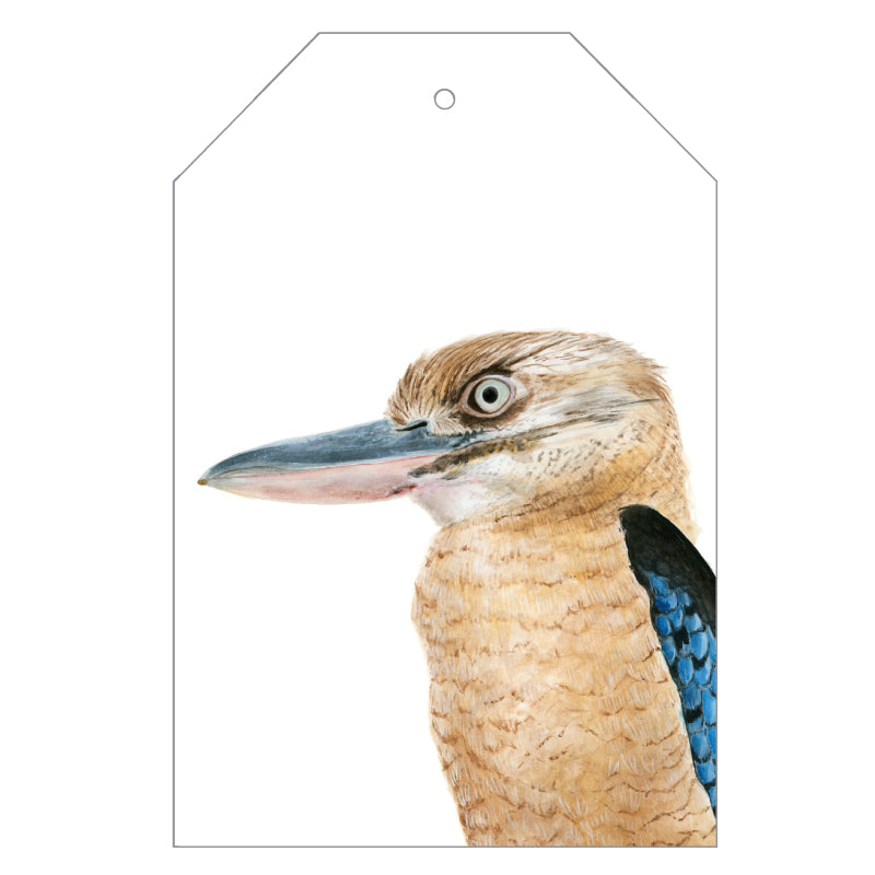 Kenny the Kookaburra Gift Tags - For Me By Dee