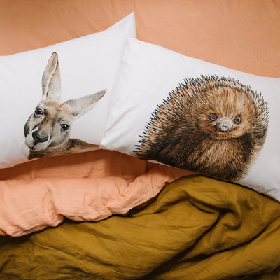 Kylie the Kangaroo Pillowcase - For Me By Dee