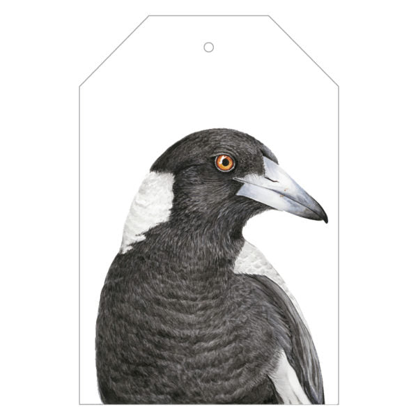 Maggie the Magpie Gift Tags - For Me By Dee