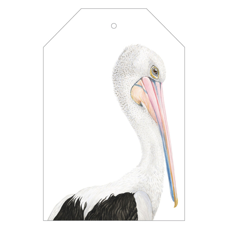Pippa the Pelican Gift Tags - For Me By Dee