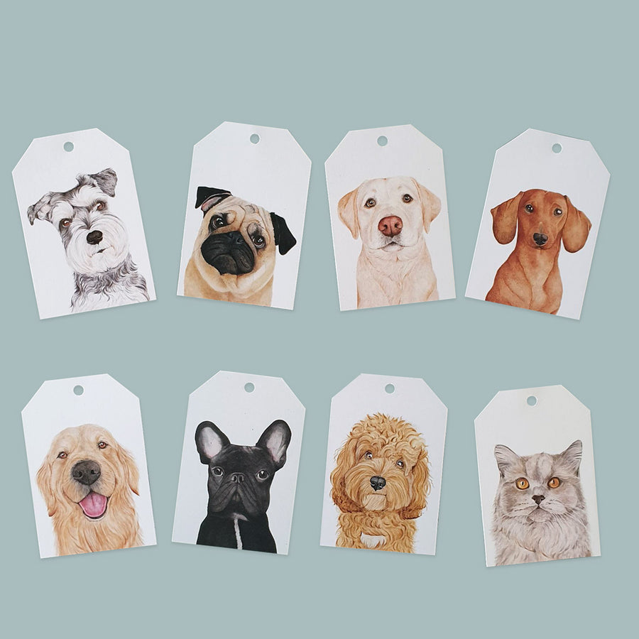 Pets Gift Tags Pack
