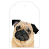 Pedro the Pug Gift Tag Pack - For Me By Dee