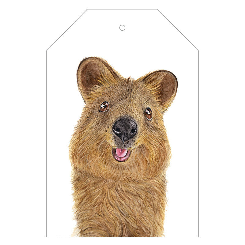Quentin the Quokka Gift Tags - For Me By Dee