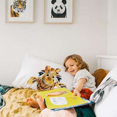 Toby the Giraffe Pillowcase - For Me By Dee
