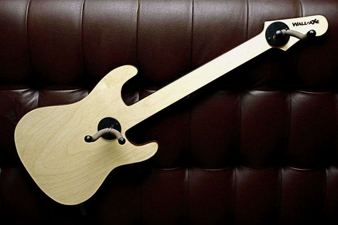 Buddy Jr. Guitar Hanger (2-Hanger CSS Birch Ply)-Wall-Axe Guitar Hangers