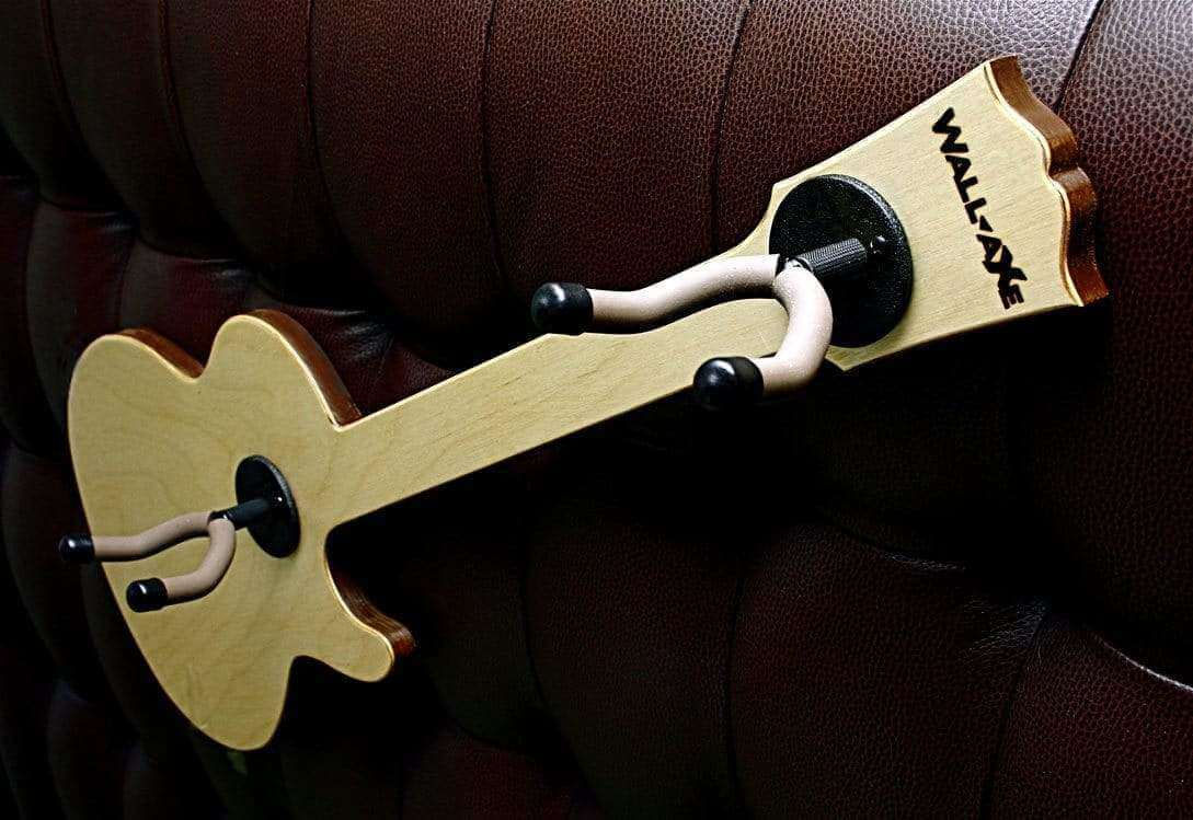eRock Jr. Guitar Hanger (2-Hanger CSS Birch Ply)-Wall-Axe Guitar Hangers