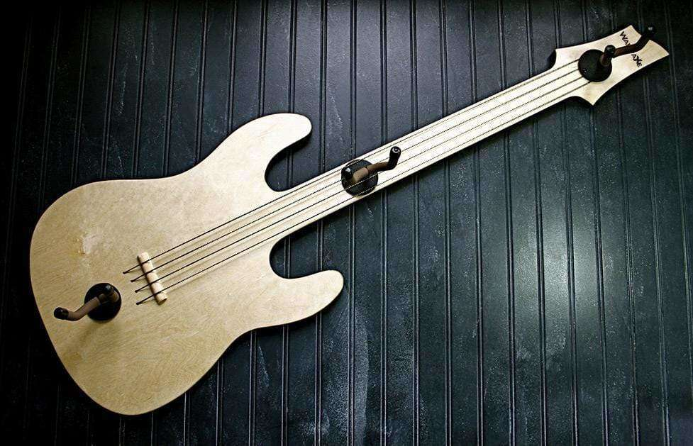 Shrek Guitar Hanger (CSS Birch Ply)-Wall-Axe Guitar Hangers