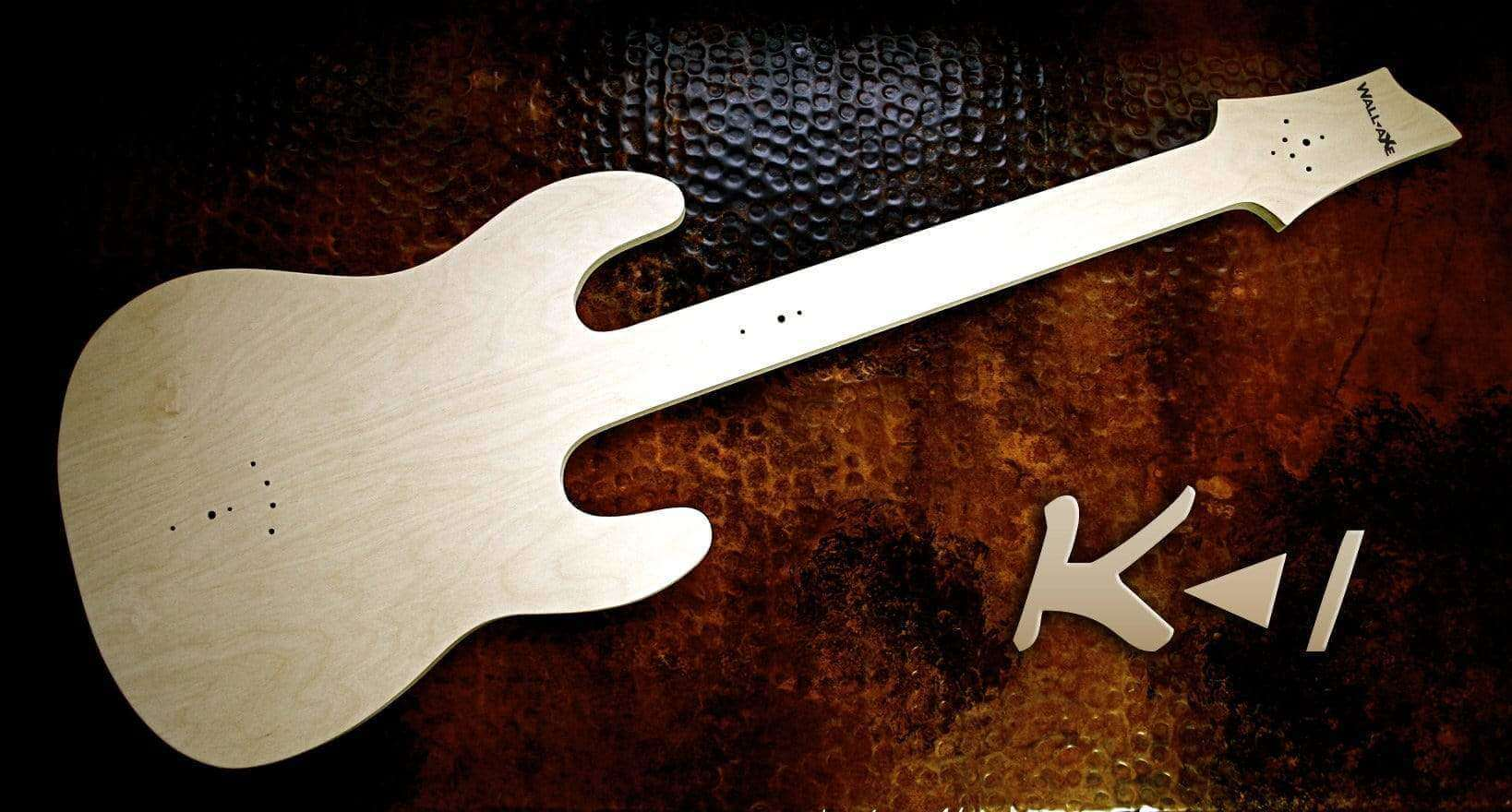 Shrek Guitar Hanger (DIY Kit w/ Hardware)-Wall-Axe Guitar Hangers