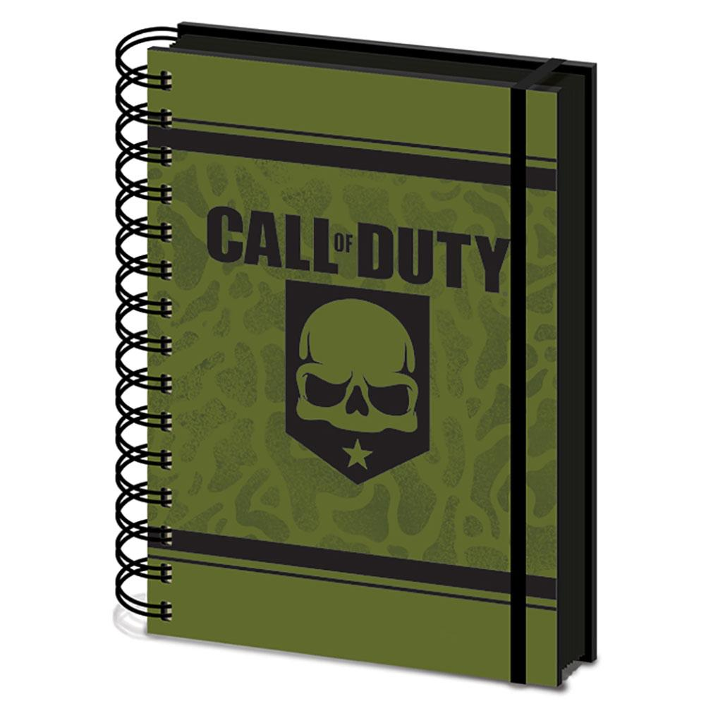 Call Of Duty Notebook - Football Centrum