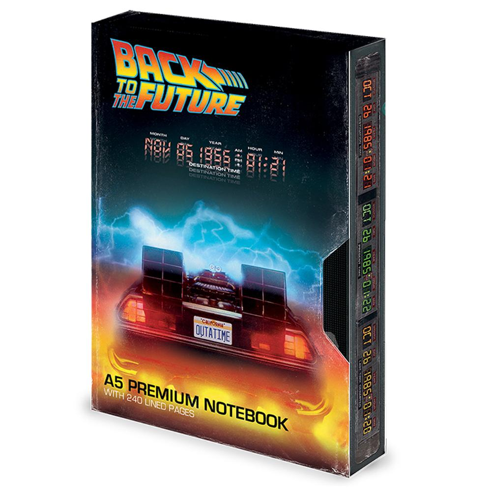 Back To The Future Premium Notebook VHS - Football Centrum