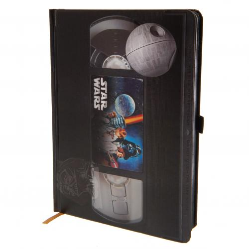 Star Wars Premium Notebook VHS - Football Centrum
