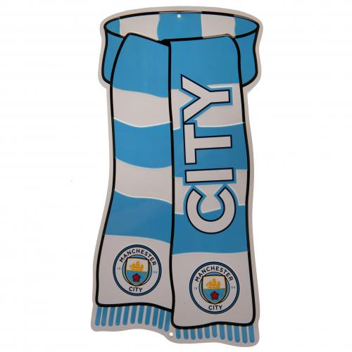 Manchester City FC Show Your Colours Sign - Football Centrum